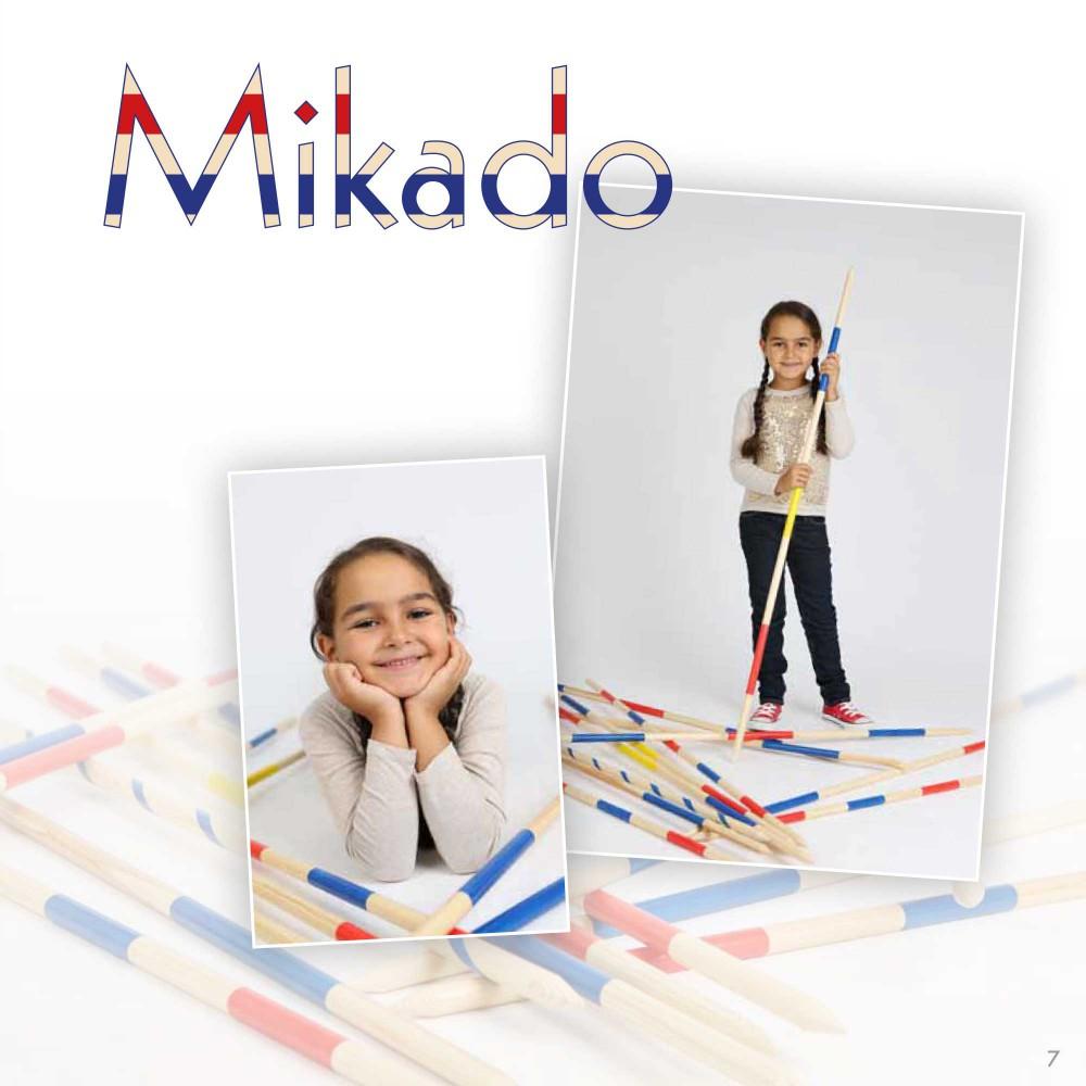 Kindergartenfotografie mit Mikado