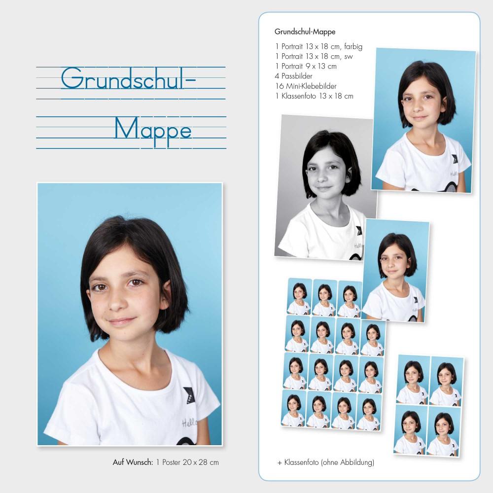 Schulfotografie 'Grundschulmappe'